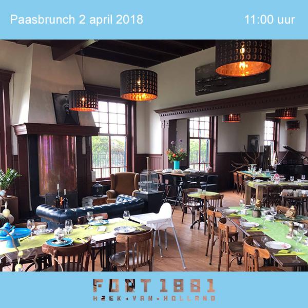 Paasbrunch 2 april 2018